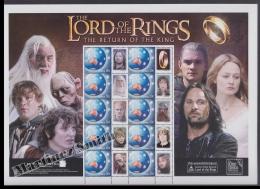 Australie - Australia 2000 Yvert 2086, Lord Of The Rings The Return Of The King  - Smilers Sheet - MNH - 2000-09 Elizabeth II