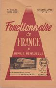 FONCTIONNAIRE DE FRANCE   HORS SÉRIE N°16 - Livres, BD, Revues