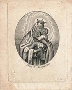 H.PRENTJE - IMAGE PIEUSE -  10 X 8 CM -  S??-  2 AFBEELDINGEN - Images Religieuses