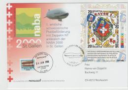 CH354a / Zeppelin Jubiläumsfahrt 2000 Zum Tag Der Luftfahrt