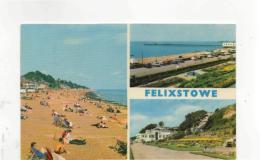 Postcard - Felixstowe 3 Views - Posted 27th July 1961 Very Good - Postcards