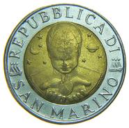 [NC] SAN MARINO - 500 LIRE - BIMETALLICA - 1996 - San Marino
