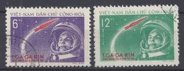 """VIET-NAM NORD - 1961 - """" Gagarine """" N° 228 Et 229 - Oblitérés - TB - - Vietnam"""