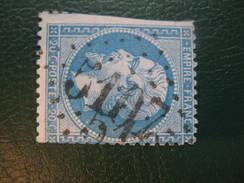 Napoleon N° 22 Oblitere GC 5107 Tunis - 1862 Napoleon III