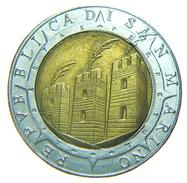 [NC] SAN MARINO - 500 LIRE - BIMETALLICA - 1992 - San Marino