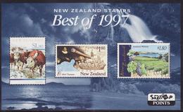 NEW ZEALAND  BEST OF 1997 MNH** - Blocs-feuillets