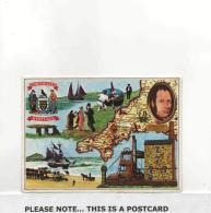 Postcard - Map - Cornwall's Heritage  New Unused - Postcards
