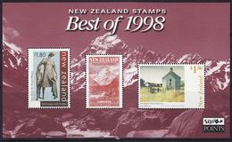 NEW ZEALAND  BEST OF 1998 I MNH** - Blocs-feuillets