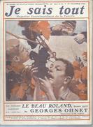 """JE SAIS TOUT   N°21  """" FREDERIC MISTRAL """"      -   OCTOBRE 1906 - Livres, BD, Revues"""