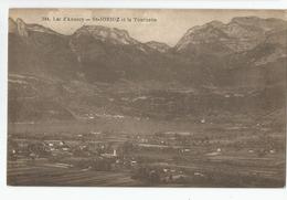 Haute Savoie - 74 - Lac D'annecy - St Jorioz Et La Tournette 1920 - Annecy