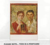 Postcard - Napoli - Portrait Of Paquio Proculo And His Wife From Pompei New - Cartes Postales