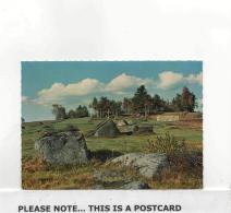 Postcard - Naturpark Blockheide Eibenstein - Nachest Gmund Waldviertel New - Postcards