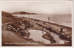 Postcard - New Promenade & Sunny Slopes. Heysham 1926 Very Good - Cartes Postales