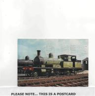 Postcard - No. 488 Adams Radial 4-4-2 Tanks Datet 12-6-1963 But Not Posted Very - Cartes Postales