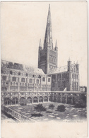 Postcard - Norwich Cathedral - Valentines Series 1913 New Unused - Cartes Postales