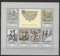 DDR Kleinbogen 2013/18 Packung Mit 10 Stück ** Postfrisch