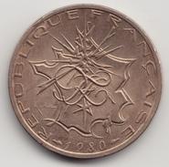 @Y@  Frankrijk  10 Francs  1980   (4652) - France