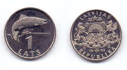 Latvia 1 Lats 1992 - Latvia