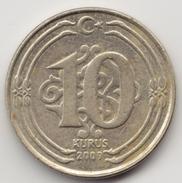@Y@   Turkije    10 Kurus   2009    (4656) - Turquie