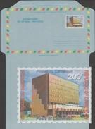 Cameroun 2002. Aérogramme. Administration Centrale De La Poste