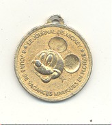 Médaille - DISNEYWORLD - Le Journal De Mickey - 8 Jours De Vacances Magiques En Floride - BD - Walt Disney (gr) - Touristiques