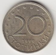 @Y@    BUlgarije    20  Stotinki   1999     (4665) - Bulgarie
