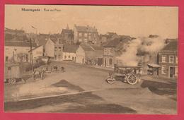 Montegnée - Rue Du Pont ... Travaux De Voirie, Rouleau Vapeur ( Voir Verso ) - Saint-Nicolas