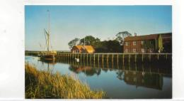 Postcard - River Alde At Snape Quay - Suffolk Very Good - Postcards