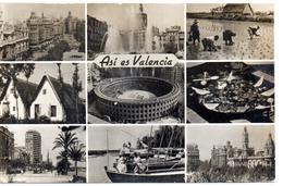 Tarjeta Postal  De Valencia. - Valencia