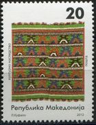MACEDONIA 2012 Cultural Heritage - Tapestry MNH