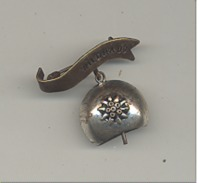 Broche Avec Clochette - SUISSE - WILDHAUS - Edelweiss (gr) - Publicité