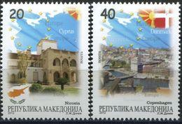 MACEDONIA 2012 Macedonia In The European Union MNH