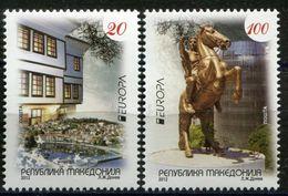 MACEDONIA 2012 EUROPA Stamps - Visit Macedonia MNH