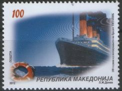 MACEDONIA 2012 The 100th Anniversary Of The Titanic Disaster MNH - Macédoine