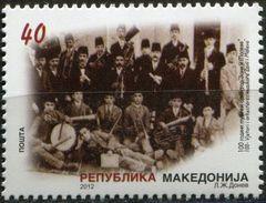MACEDONIA 2012 The 100th Anniversary Of Musical Orchestra Zani I Maleve  MNH