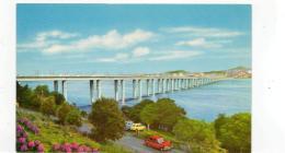 Postcard - The Tay Road Bridge Opened On 18th Aug 1966 Very Good - Cartoline