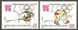 MACEDONIA 2012 Olympic Games - London, England MNH - Mazedonien
