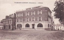 29-----CLOHARS-CARNOET---l'hôtel--(hôtel Restaurant Carte  PUB )--voir 2 Scans - Clohars-Carnoët