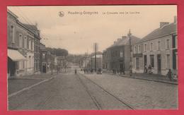 Houdeng-Gœgnies - La Chaussée Vers La Louvière ( Voir Verso ) - Manage