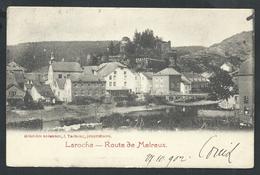 +++ CPA - LAROCHE - Route De Melreux  //