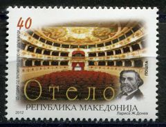 MACEDONIA 2012 The 125th Anniversary Of The Othello Theatre MNH