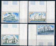 "CONGO 1976  MNH  -  "" BATEAUX / SHIPES ""  -  4  VAL. - Mint/hinged"