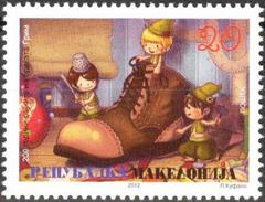MACEDONIA 2012 The 200th Anniversary Of The First Folk Tales By The Grimm Brothers MNH