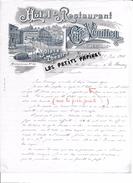 Belgique - LIEGE - Facture VERLHAC - Hôtel Et Restaurant Du Café Vénitien - 1905 - REF 258 - Factures & Documents Commerciaux