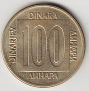@Y@    Joegoslavië  100  Dinara  1989        (4669) - Yougoslavie