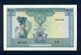 Banconota Laos 10 Kip 1962 FDS - Laos