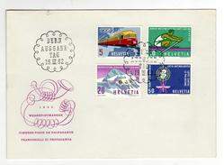 Enveloppe 1er Jour Oblitération BERN AUSGABETAG 19/03/1962