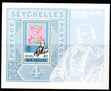 Seychelles 1979 Rowland Hill MS, MNH (B) - Seychelles (1976-...)