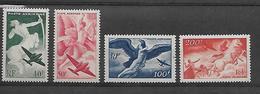 FRANCE 1946/1947  POSTE AERIENNE YT 16/19 Neufs** Cote 2015 = 18 € à 20 %