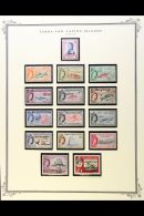 1953-73 COMPLETE MINT / NHM COLLECTION Presented In Mounts On Printed Pages. An Attractive Collection With A...